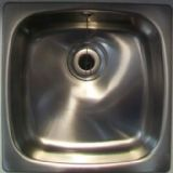 Astracast Onyx 4545 Utility Inset Kitchen Sink 450 x 450 - 52002130